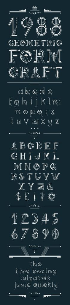 Typography Alphabet, Typography Fonts, Graphic Design Typography, Lettering Design, Design Graphique, Art Graphique, Typographie Inspiration, Font Art, Poster