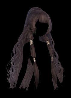Anime Girl Hairstyles, Kawaii Hairstyles, Pretty Hairstyles, Braided Hairstyles, Manga Hair, Anime Hair, Collateral Beauty, Pelo Anime, Hair Sketch