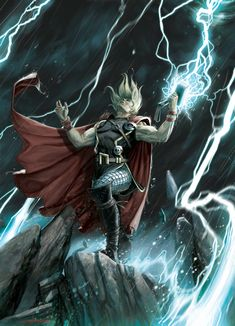 Thor by AndreaMeloni on @DeviantArt