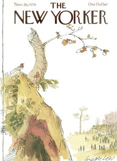 The New Yorker - Monday, November 26, 1979 - Issue # 2858 - Vol. 55 - N° 41 - Cover by : Joseph Low