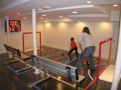 There&Apos;S a hockey rink in my basement in 2019 хоккей, погреб, интерьер. Basement Gym, Basement Remodeling, Sports Challenge, Soccer Room, Hockey Bedroom, Nerf, My Dream Home, Game Room, Future House