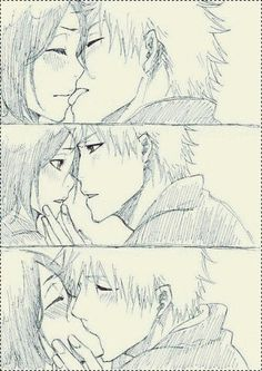 That kiss. Is this from anywhere?? If so, please tell me! ...oh shit. Now that I look at it closer...it can't be Ichigo & Rukia?? Nonono please