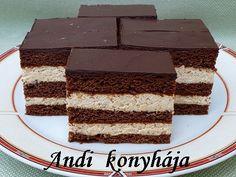 Gesztenyés mézes krémes - Andi konyhája - Sütemény és ételreceptek képekkel