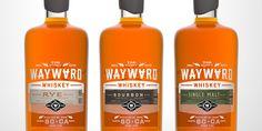Wayward Whiskey Logo & Packaging — The Dieline - Package Design Resource