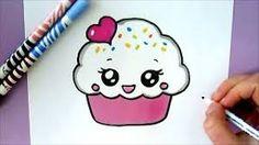 Resultado de imagen para cup cake kawaii