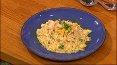 Quick risotto with smoked haddock