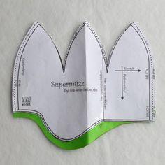 Kindermütze für warme Ohren - diesmal aus senfgelbem Wollwalk - nach kostenloser Anleitung - Freebook - bebilderte Schritt-für-Schritt Anleitung