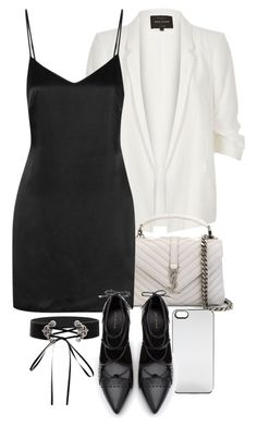 """Untitled #11206"" by minimalmanhattan on Polyvore featuring Zero Gravity, River Island, Yves Saint Laurent, La Perla and Zara"