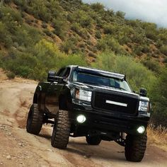 Follow us to see more badass lifted, diesel or gas trucks. Cummins, Duramax or Powestroke -we love all! So, bring on the big Chevy, GMC, Ram, Dodge, Ford or Jeep trucks. I like to see them in the mud, on the dragstrip, or just cruising the street.  #Chevy #duramax Definitely! Gmc Trucks 2015, New Trucks, Cool Trucks, Lifted Chevy Trucks, Jeep Truck, Chevy Duramax, Diesel Pickup Trucks, Country Trucks, Dacia