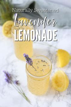 Naturally sweetened lavender lemonade brings the best fresh flavors of summer. Sweet and tangy lemonade with the subtle flavors of lavender make this drink extra special.  #ablossominglife #lemonade #lavenderlemonade