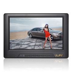 Amazon.com : Lilliput 7-inch LCD monitor with HDMI, YPbPr interface, dedicated high-definition video camera : Vehicle Headrest Video : Car Electronics