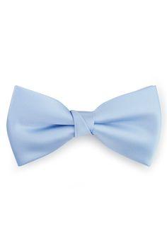 Garçons Cravate Petit Pré-attaché - Bleu Solide - Cran Solide Cran Bleu Clair bczKeSNBh
