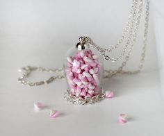Candy jar collar collar de malvavisco botella por Dleesnow