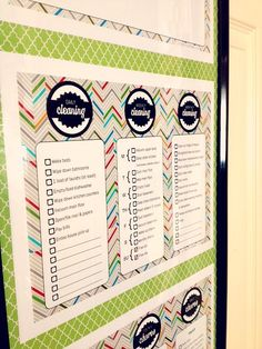 KITCHEN COMMAND CENTER PRINTABLES
