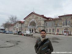 Bem Vindos à República da Moldávia!Estação de trem de Chisinau