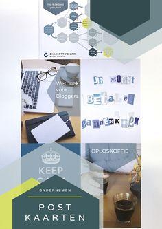 Ansichtkaarten om te versturen, voor ondernemers, met kort juridisch advies