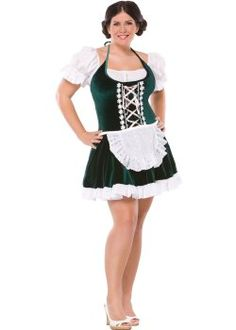 Beer Gal Plus Size Costume (more details at Adults-Halloween-Costume.com #oktoberfest #halloween #costumes