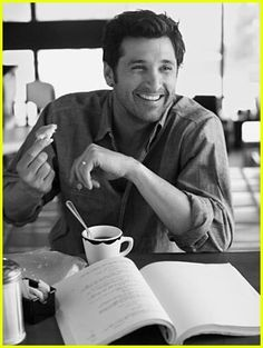 #coffee with #Patrickdempsey