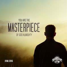 God sees each of us as His masterpiece. We are perfect in His eyes. #God #Creation #Masterpiece #Faith #Inspiration #Motivation