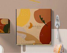 Branding Bakery on Behance Food Box Packaging, Bakery Packaging, Food Packaging Design, Packaging Design Inspiration, Brand Packaging, Brand Identity Design, Graphic Design Branding, Bakery Branding, Branding Agency