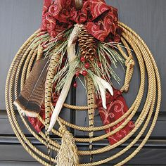 Perfect Circles: Holiday Wreaths for the Home
