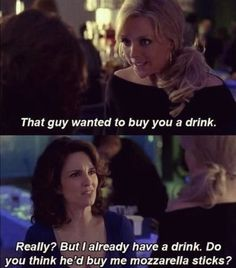 When the last thing you need is another vodka soda. | 23 Times Liz Lemon Said What You're Actually Thinking