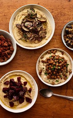 Set up a DIY Hummus Bar for Shabbat and let the picky eaters make their own!