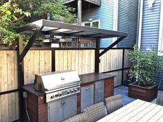 Patio With A Fireplace And Gas Grill In Chicago Ideas Outdoor Fireplaces Patios . fireplace and patio store small fireplaces. diy patio fireplace outdoor gas fireplaces for patios. Outdoor Grill Area, Outdoor Grill Station, Grill Gazebo, Outdoor Kitchen Patio, Outdoor Kitchen Design, Pergola Patio, Big Green Egg Outdoor Kitchen, Small Outdoor Kitchens, Outdoor Barbeque