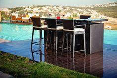 Rattan House Monte Carlo Bar Counter
