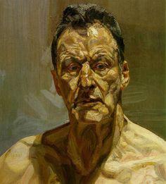 Lucian Freud: Self Portrait, Reflection 2002