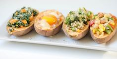 Zemiaky tak, ako ich nepoznáte. Baked Potato, Sweet Potato, Sushi, Main Dishes, Potatoes, Baking, Ethnic Recipes, Food, Main Courses