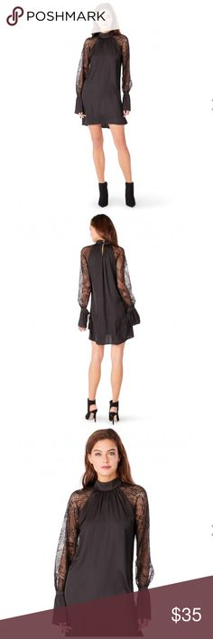 LACE SHIFT DRESS Brand new and never worn. Michael Stars Dresses Long Sleeve