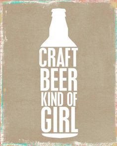 Craft Beer Kind of Girl