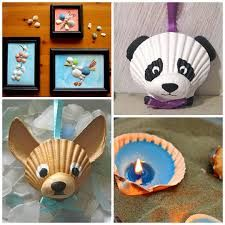 Image result for crafts using sea shells