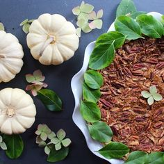 What happens when you cross a pecan pie with a pumpkin pie  You've got a lot to be thankful for…