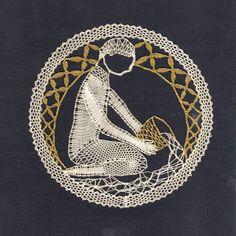 znamení - heli - Álbumes web de Picasa Aquarius Art, Bobbin Lacemaking, Bobbin Lace Patterns, Lace Heart, Victorian Lace, Lace Jewelry, Simple Art, Easy Art, Lace Making