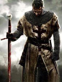 James Purefoy as the Templar Thomas Marshall in Jonathan English's film, Ironclad (2001)