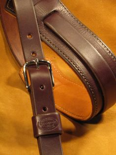 Brookwood Leather - Custom Leather Guitar Straps... Handcrafted goodness.