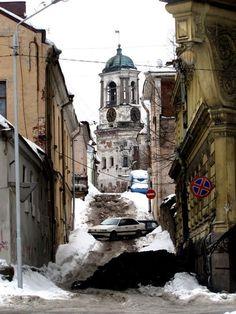 """Выборг (бывший финский Viipuri) - 74 года назад сюда пришёл """"Русский мир"""""""