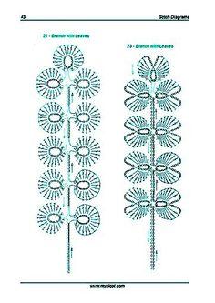 Crochet Patterns Diagram crochet leaves by Kat K. crochet leaves by Kat K. Crochet Leaf Patterns, Crochet Leaves, Crochet Motifs, Crochet Diagram, Freeform Crochet, Crochet Flowers, Russian Crochet, Irish Crochet, Crochet Russa