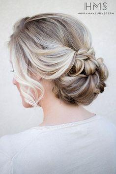relaxed wedding hair ideas #weddinghair