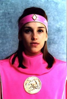 The pink Power Ranger from the first Power Rangers movie.