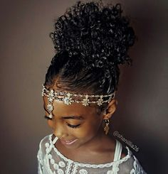High puff- Natural hairstyles for kids…