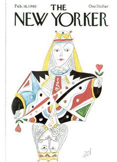 Paul Degen : Cover art for The New Yorker 2870 - 18 February 1980