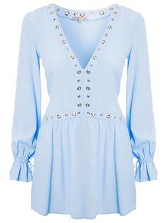 VESTIDO IRIEL - AZUL   - - -   http://www.shop2gether.com.br/vestido-iriel.html