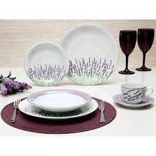 Resultado de imagem para aparelho de jantar lilas