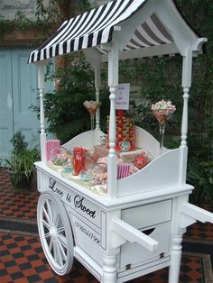 wedding candy cart - Google Search