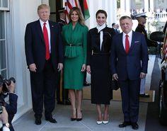 Лучшие образы первой леди Мелании Трамп - cosmo.com.ua