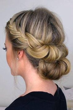 This year, ditch the stiff buns and too-tight curls and opt for one of these gorgeous updo hairstyles instead.