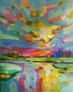 What is Your Painting Style? How do you find your own painting style? What is your painting style? Abstract Landscape Painting, Abstract Oil, Landscape Art, Colorful Paintings Abstract, Painting Art, Landscape Oil Paintings, Hippie Painting, Abstract Canvas Art, Painting Tips